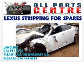 Lexus stripping for spares