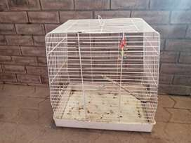 2 x small cages