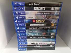 Ps4 Games @R250 each