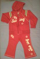 Спортивный костюм на девочку р.92
