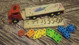 TIR drewniany zabawka edukacyjna BILBAO