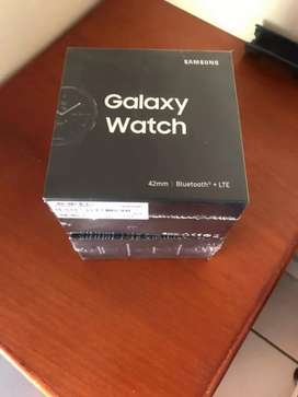 BRAND NEW SAMSUNG GALAXY WATCH 42MM + LTE