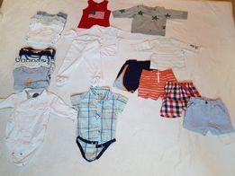 Ubranka dla chłopca r.74