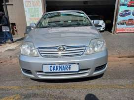 2003 TOYOTA COROLA GSX160I WITH 87000KM.