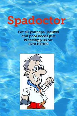 Spadoctor jacuzzi and pool