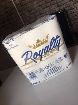 Royalty quality toilet paper Resellers Required