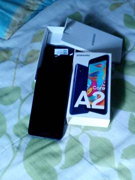 Brand new A2core samsung received 2 weeks ago as a gift