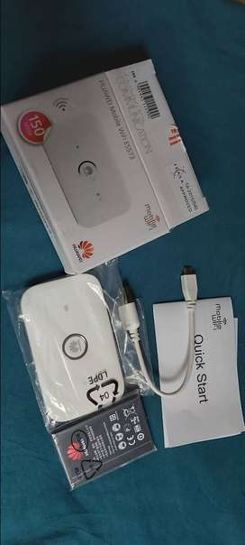 HUAWEI Mobile WiFi E5573, 3 Weeks Old