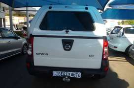 2016 Nissan NP200 1.6 MID 55,000km  Single Cab Bakkie With Canopy