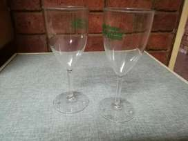 Throwing a Party? Plastic wine glasses.  Re-use or dispose
