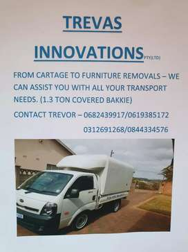 Van for Hire @Trevasinnovations