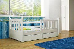 Pojedyncze łóżko dla dzieci KINDER z barierką. Nowość !