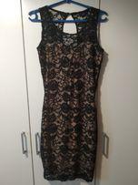 Piękna dopasowana koronkowa sukienka
