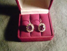 продаю старинные золотые кольцо,серьги золотые СССР