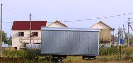 Прицеп Домик Дача Строительный вагончик фургон на базе прицепа ЗИЛ