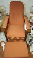 Кресло раскладное с подставкой