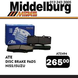 ATE Disc Brake Pads ONLY R 265!