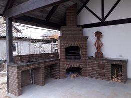 Построим барбекю, печь, камин, мангал, печной комплекс из кирпича