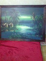 Продам картину.Африканский пейзаж.
