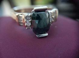 Кольцо с бриллиантами 1.37 карата