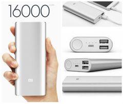 Портативная зарядка Power Bank Xiaomi 16000 mAh 2 USB