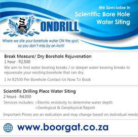Borehole Water Siting / Divining
