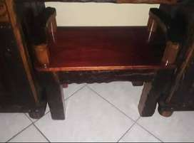 Sleeper Wood Bed Set And Dressing Table