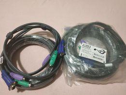 КВМ-кабель с интерфейсами PS/2, VGA (5м) KVM Aten 2L-1005P