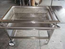 Braai stand Adjustable 6x9 stainless