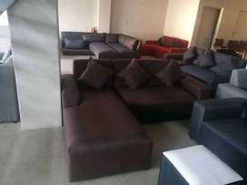L shape couches for sale right at the factory shop for R2499