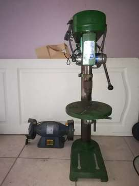 Drill press heavy duty  and bench grinder both for R3000