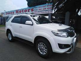 2014 Toyota Fortuner 2.5 D-4D Raised Body