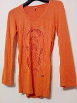 pomarańczowa bluzeczka S/M