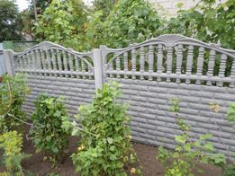 Еврозабор, бетонный забор, установка от производителя с гарантией!