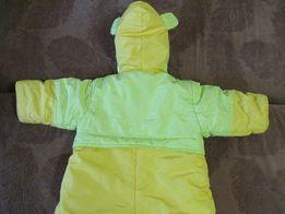 Детский зимний комбинезон-трансформер с 6 до 18 месяцев.