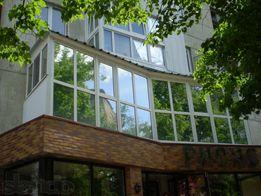 """Балконы и лоджии """"под ключ"""". Остекление балконов и лоджий в Луганске."""