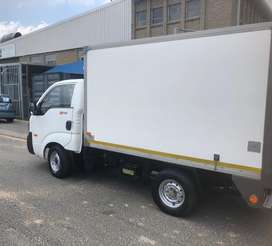 Refrigerated bakkie for hire