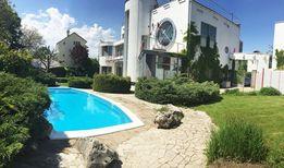 13 фонтана шикарный дом VIP уровня с бассейном