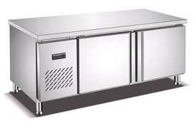 1.5m Under Bar Fridge (with two stainless steel doors)