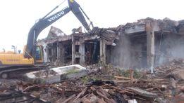 Демонтаж зданий и сооружений также утилизация на свалку