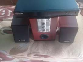 Samsung dvd and Home theatre