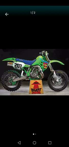 LOOKING for a Cr 500, Kx 500, Rm 500 bike