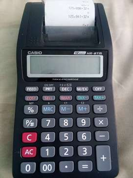 HR-8TM Casio Printing Calculator
