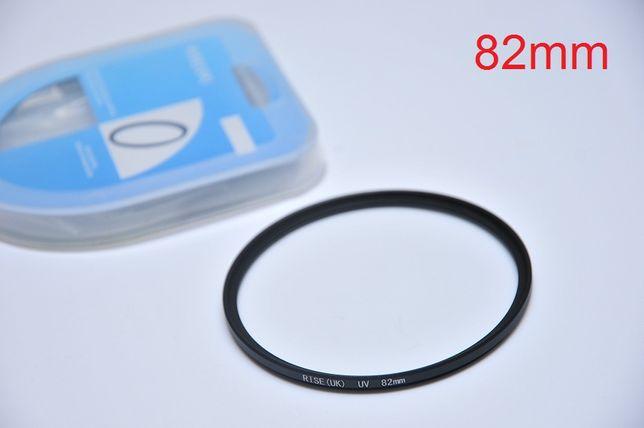 82mm Светофильтр UV RISE(UK) SLIM ультрафиолетовый защитный фильтр Днепр - изображение 2