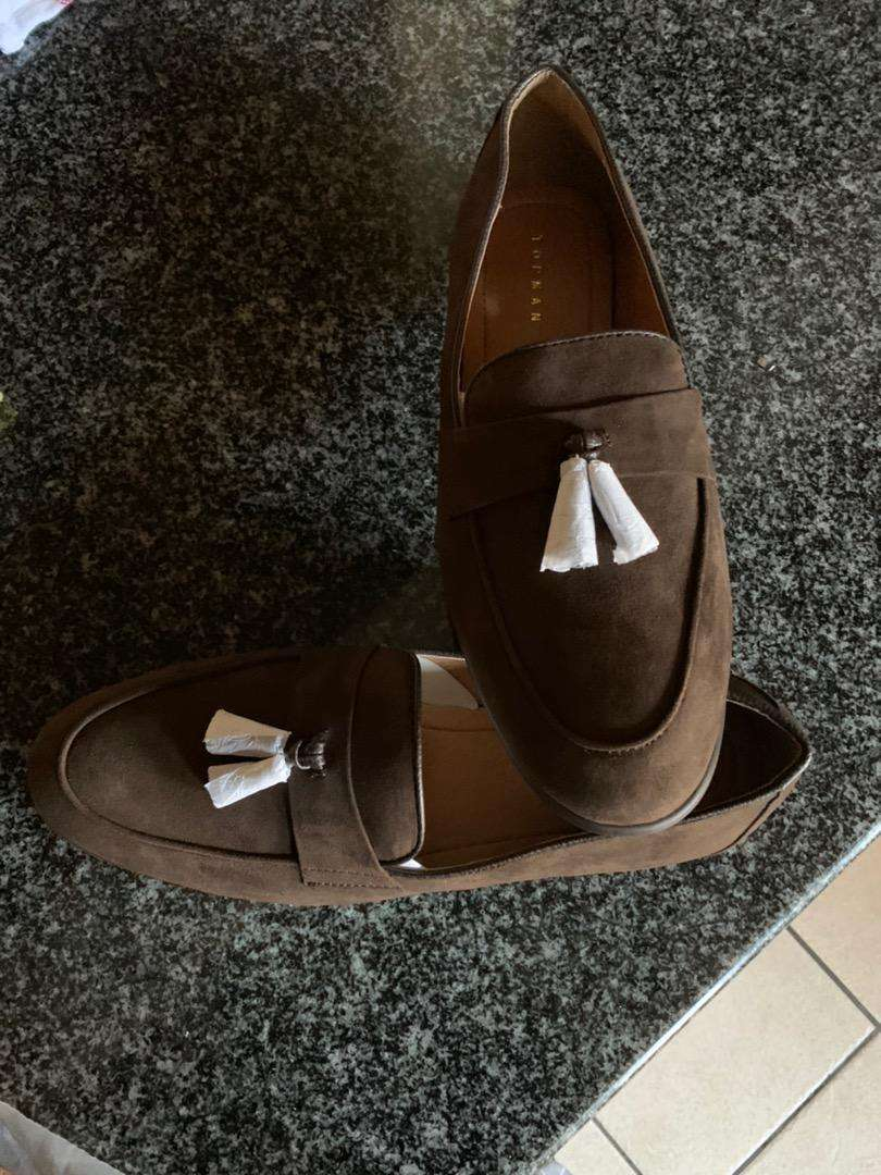 Topman brown loafers shoes 0