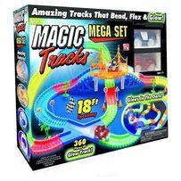 Magic trackS меджик Трэк светящаясяДорога сСо машинкамиТрек 220Деталей