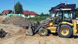 Usługi Koparką Koparko-Ładowarką wykopy ziemne Elbląg i okolice
