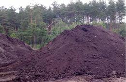 żyzna ziemia czarnoziem humus S19 przy Białystok