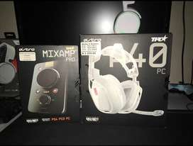 Astro a40 Gaming Headset ( PS4 XBOX ONE AND PC )