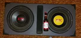 12 inch XTC COMPETITION SERIES DOUBLE SUBS IN BOX